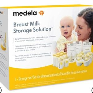 Medela Breast milk storage solution bottles & bags